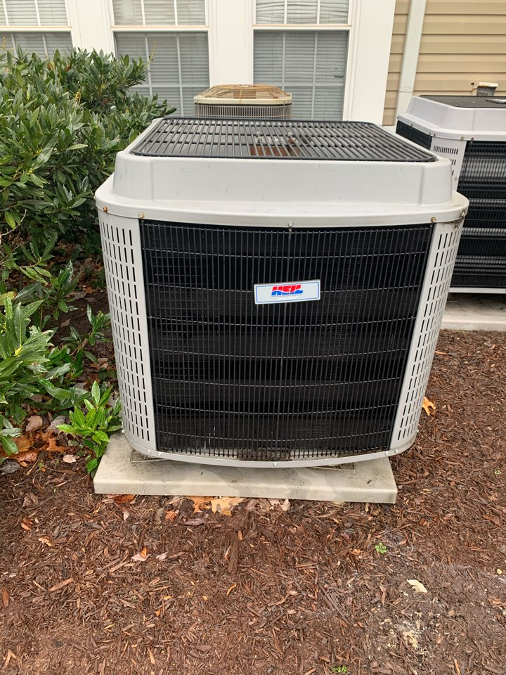 Arlington, VA - Performed diagnostics and repairs on Heil Heat Pump system with Ecobee Thermostat