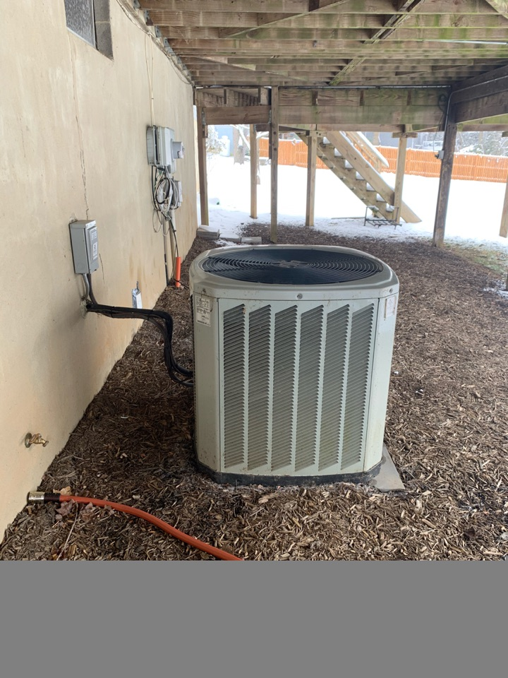 Performed repairs on Trane Heat Pump system.