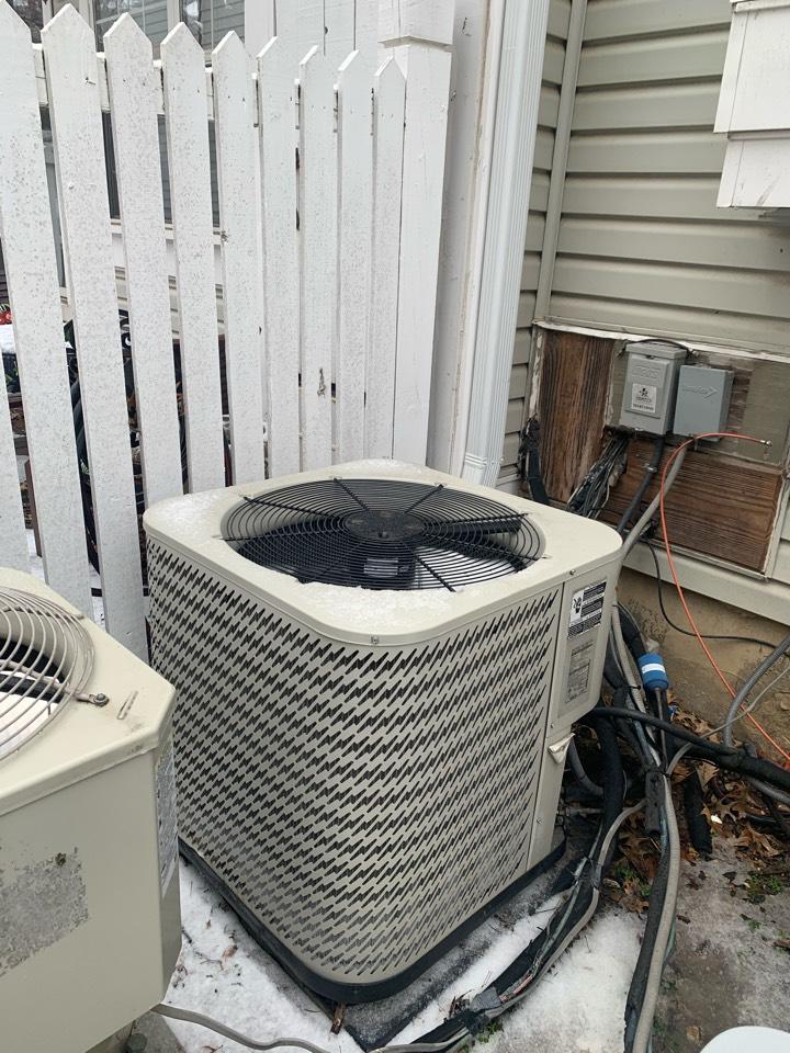 Arlington, VA - Performed Inspection  on Gibson Heat Pump system.