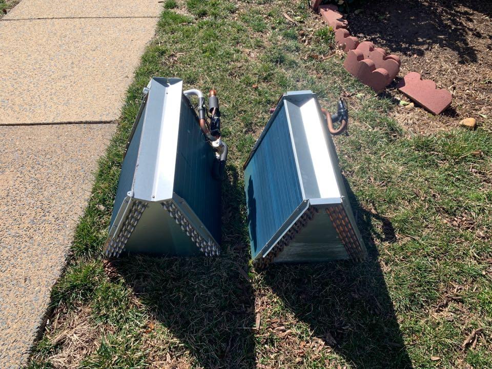 Arlington, VA - Replacing Bosh indoor leaking coil.