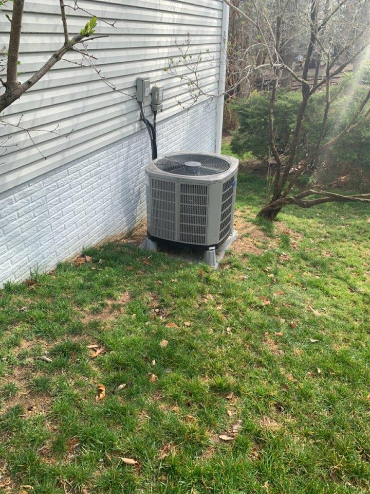 Springfield, VA - Performed preventive maintenance on American Standard Heat Pump system.