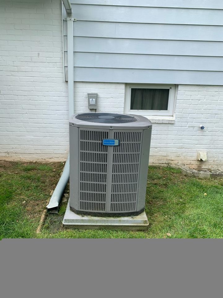 Springfield, VA - Performed preventive maintenance on American Standard AC system.