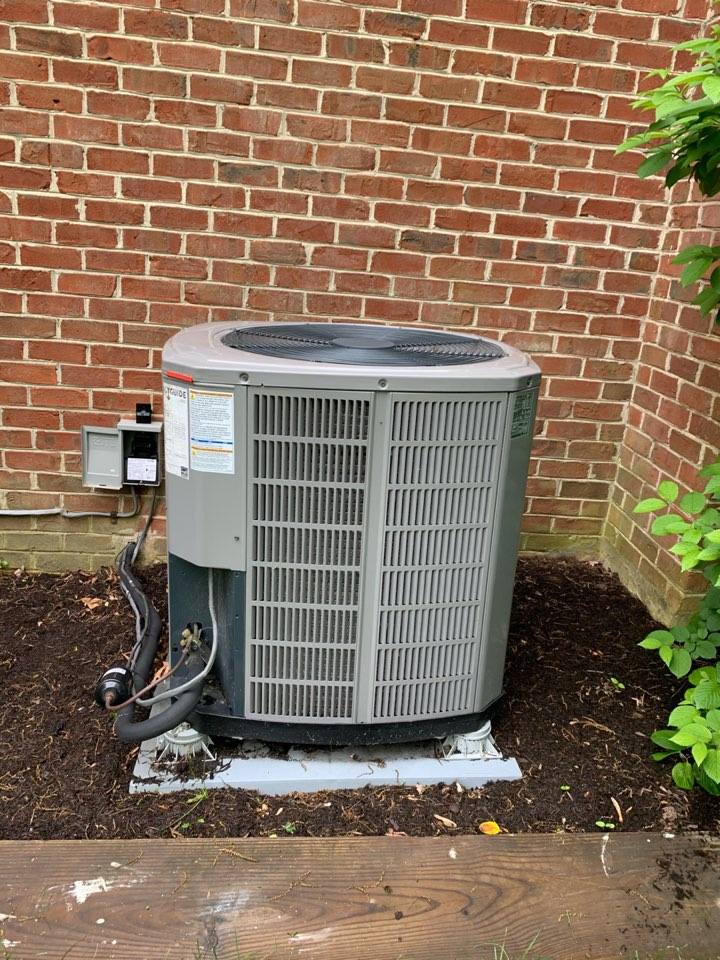 Performed Spring preventive maintenance on Trane Heat Pump system.