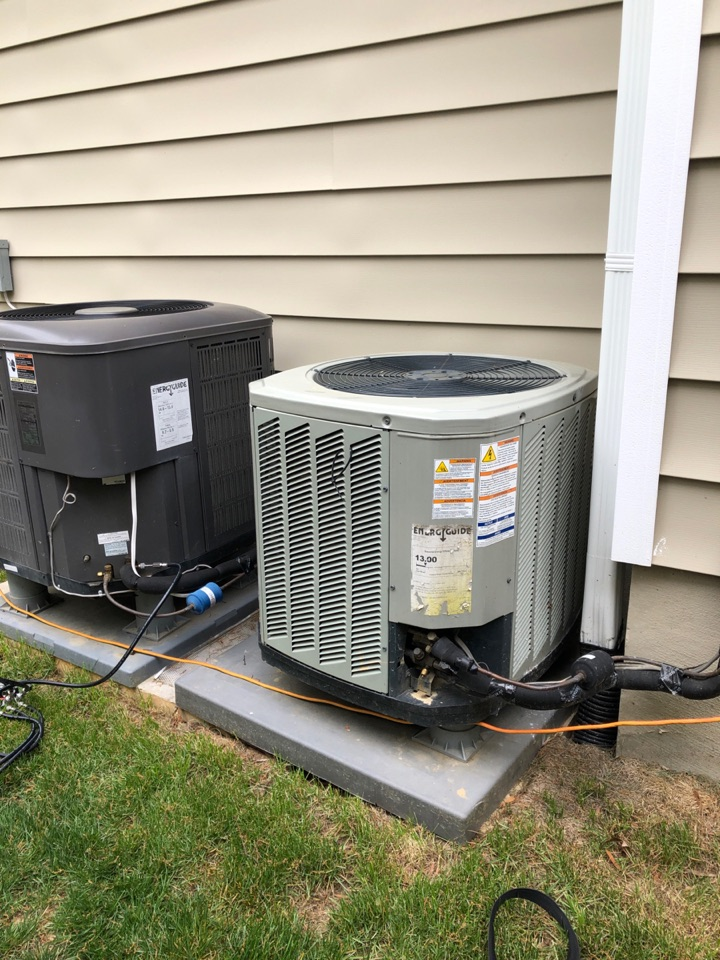 Alexandria, VA - Performed repairs on Trane AC system.