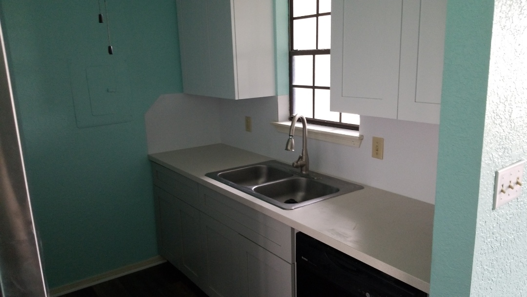 Galveston, TX - Kitchen cabinet replacement (after)