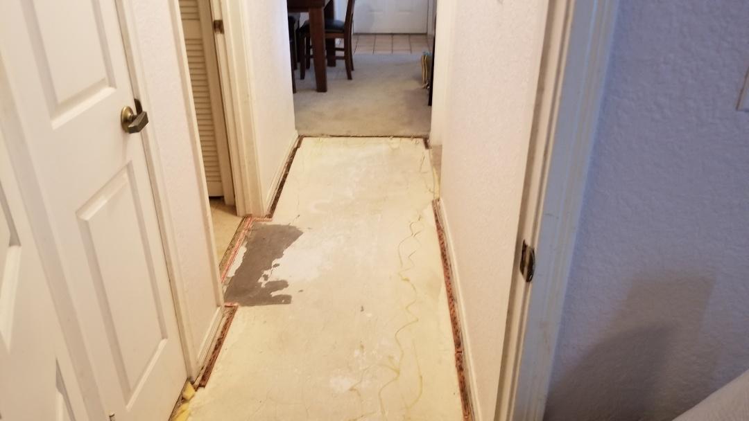 Galveston, TX - Flooring replacement (before)