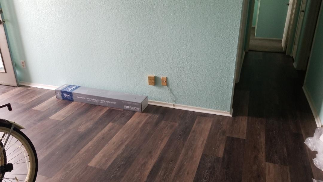 Galveston, TX - Flooring replacement (after)