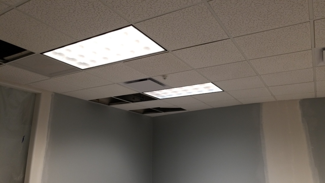 Webster, TX - Installing Suspended Ceiling and Ceiling Grid