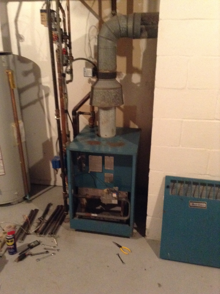 Grass Lake, MI - Performed cleaning and inspection of boiler system