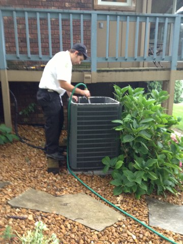 Horton, MI - How to clean a Air conditioner