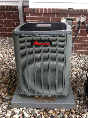 Mason, MI - Scheduled maintenance on AC unit, checked/cleaned drain lines, checked delta T, checked all components inside condensing coil, and cleaned coil.