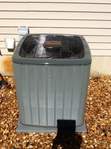 Pleasant Lake, MI - Scheduled AC clean/check, checked all filters, Delta T clean condensing coil