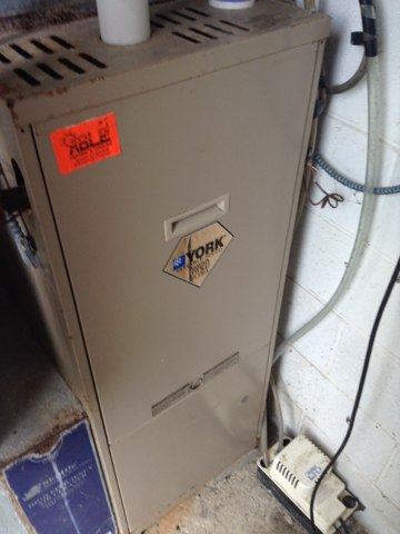 Albion, MI - Cleaning and checking the furnace and air conditioner make sure it running at the highest performance peaks for efficiencies on your consumers bill. York equipment