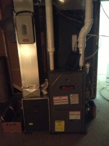 Ann Arbor, MI - Start up amana furnace and ac