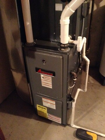 Parma, MI - Clean and inspection on furnace.