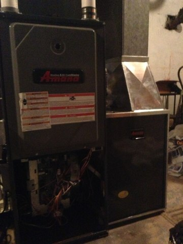 Mason, MI - Start up amana furnace