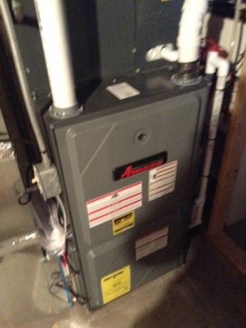 Ann Arbor, MI - Tune up on amana furnace