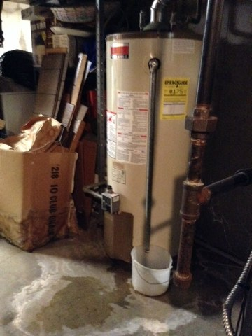 Parma, MI - Safety inspection on water heater