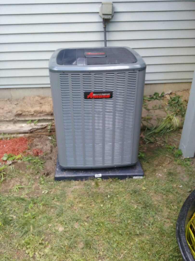 Jackson, MI - New variable speed furnace and 16 seer air conditioning