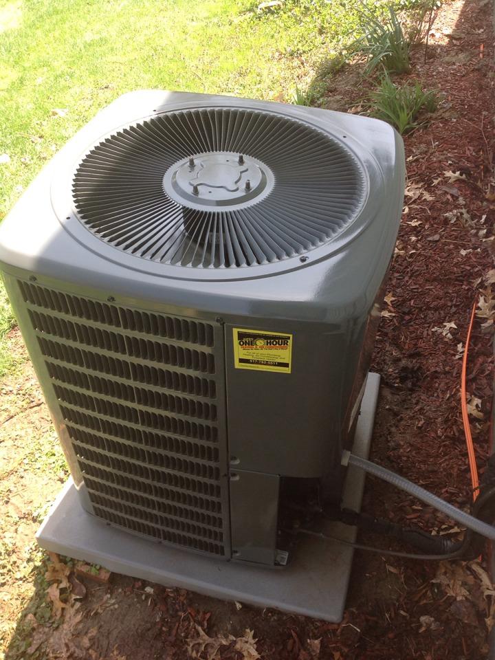 Horton, MI - Performed maintenance on AC UNIT