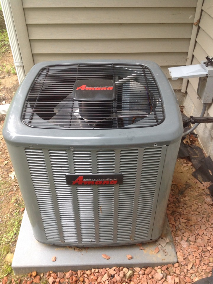 Parma, MI - Scheduled maintenance on AC unit, cleaned and checked all components