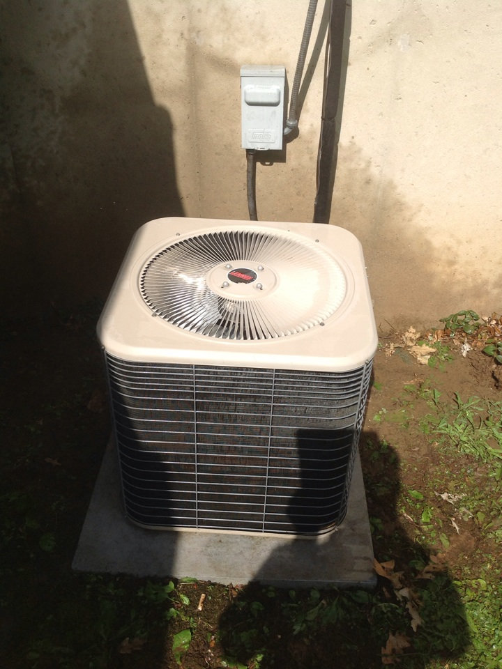 Parma, MI - Performed scheduled maintenance on AC system