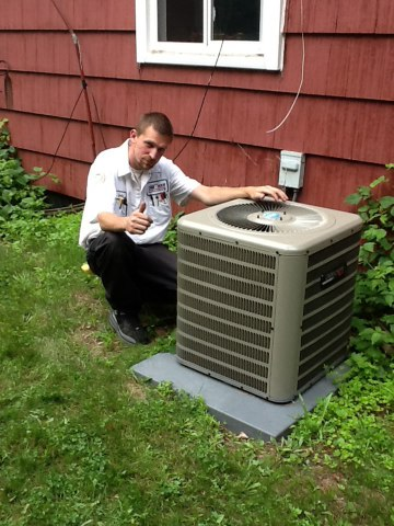 Dexter, MI - Starting up a new AC unit