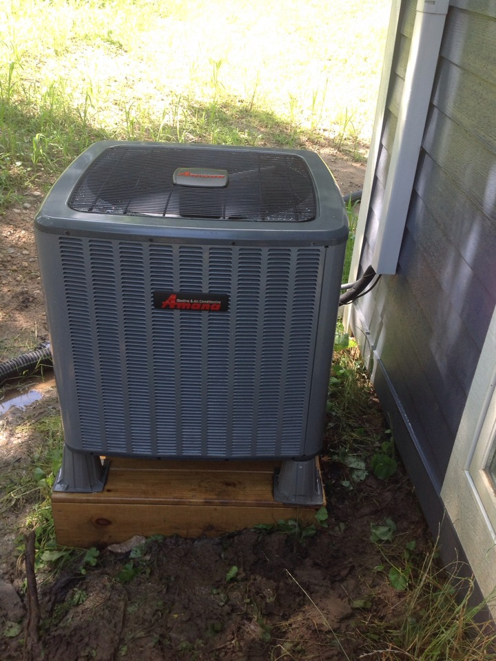 Ann Arbor, MI - Performed cleaning and inspection of AC system