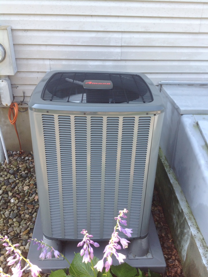 Pleasant Lake, MI - Ac scheduled cleaning and inspection