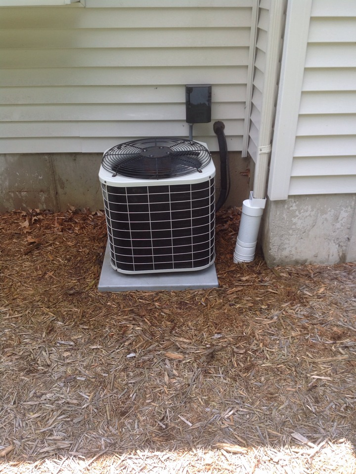 Concord, MI - Scheduled maintenance on AC system