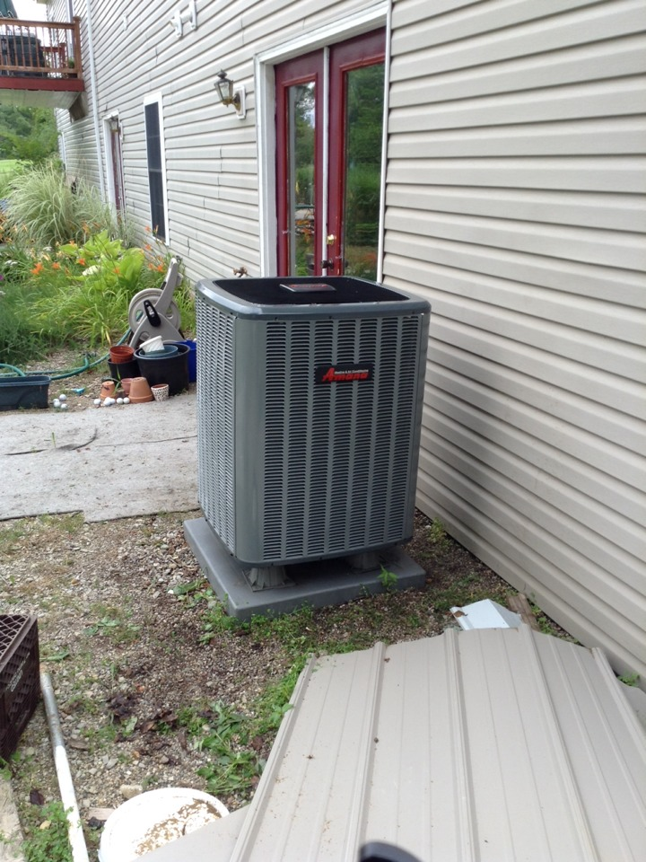 Jerome, MI - Cleaned and check AC unit