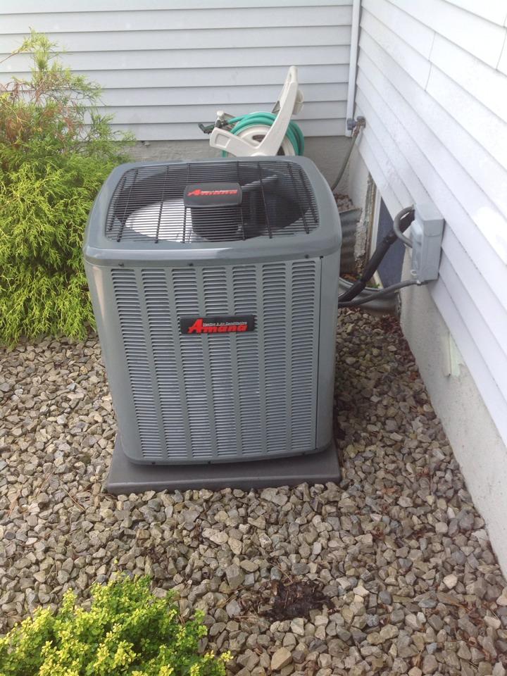 Addison, MI - Scheduled maintenance on AC system