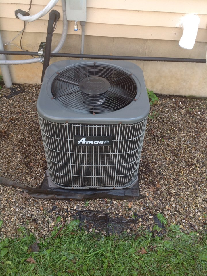 Munith, MI - Performed clean and check on AC system