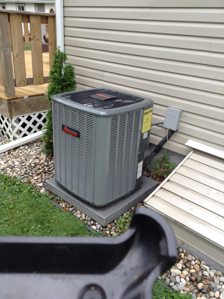 Homer, MI - Cleaned and checked AC unit