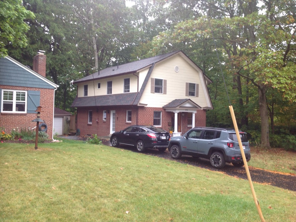 Columbus, OH - Final inspection. GAF Timberline HD Williamsburg Slate shingles.
