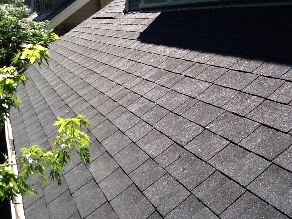 Columbus, OH - Another Quality Roof with shingles running nice and straight by Muth and Company Roofing.