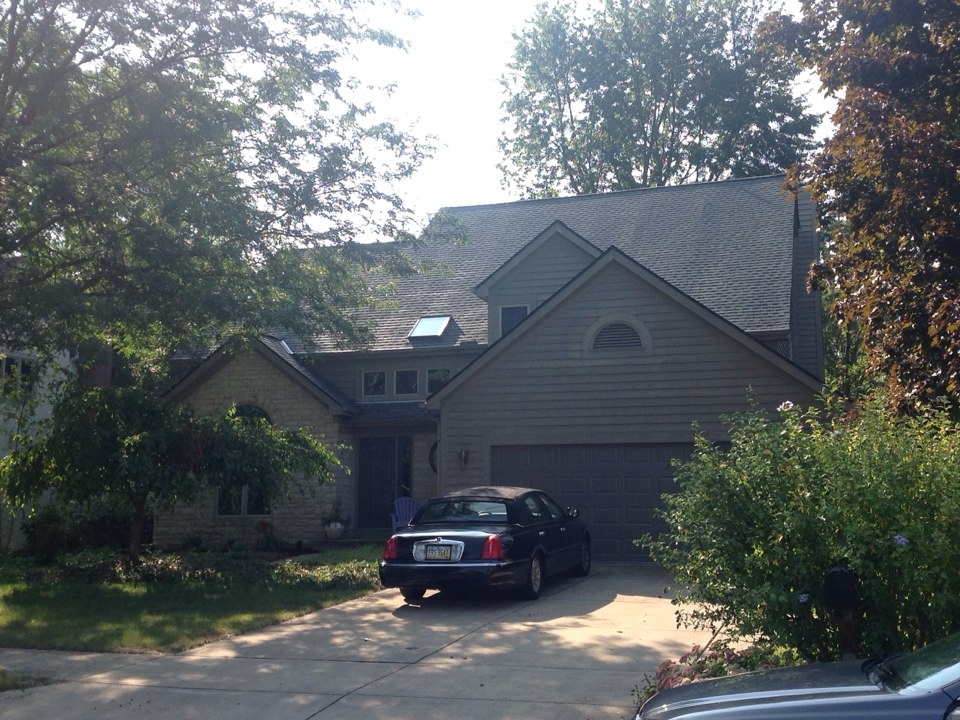 Westerville, OH - #MuthRoofing #GAF #ColumbusRoofing #TimberlineHD #Weatheredwood #NeedARoofCallMuth
