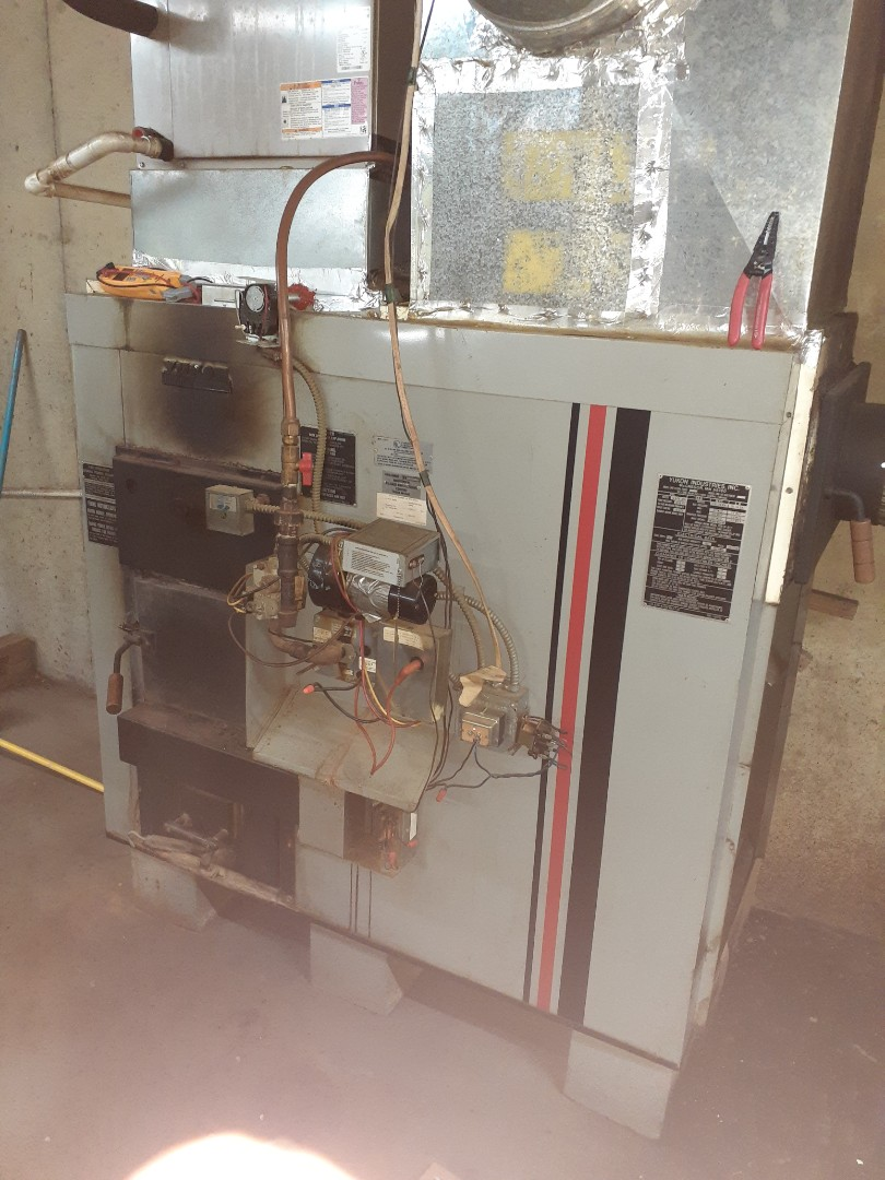 Cherry Log, GA - Yukon Wood/Gas furnace repair