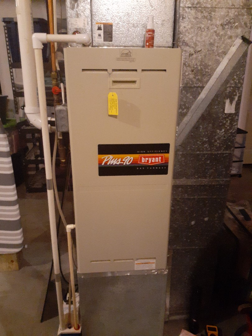 Bryant furnace repair