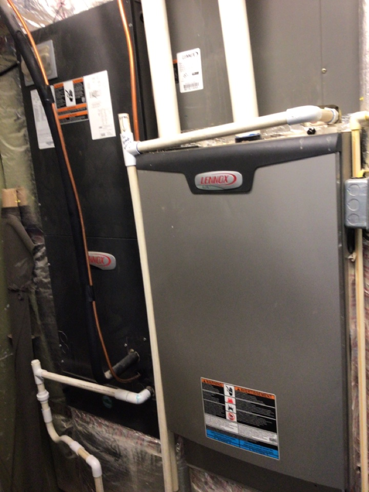 Morganton, GA - Three Lennox system maintenance and filter change
