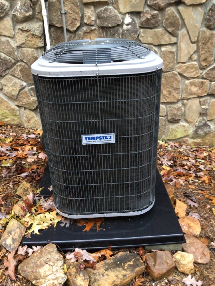 Morganton, GA - Temp star heat pump maintenance and filter change