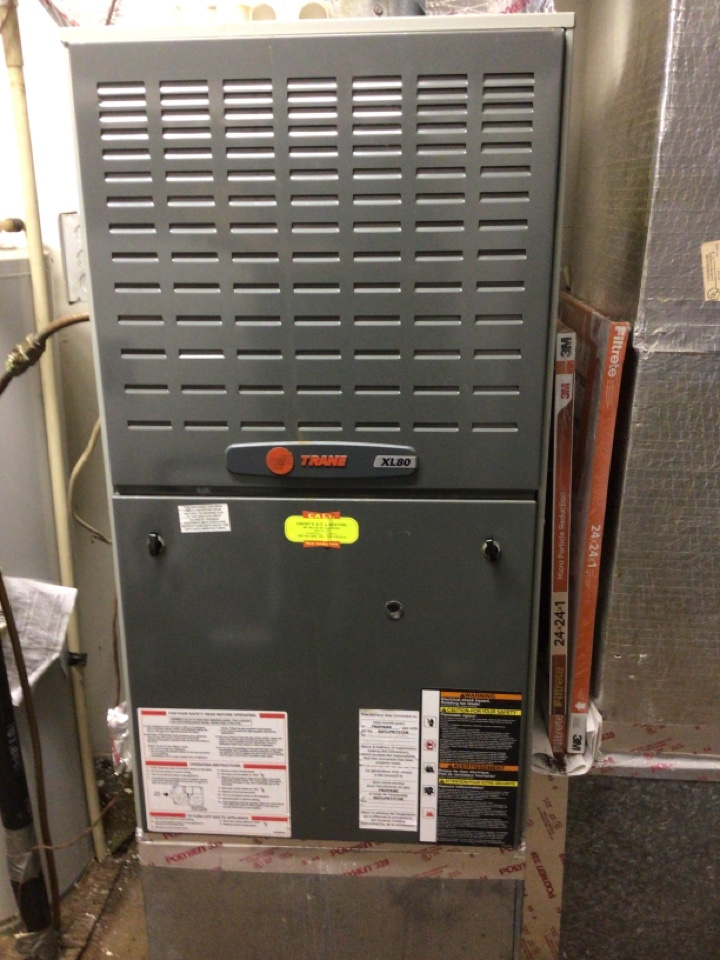 Blairsville, GA - Trane gas furnace no cool