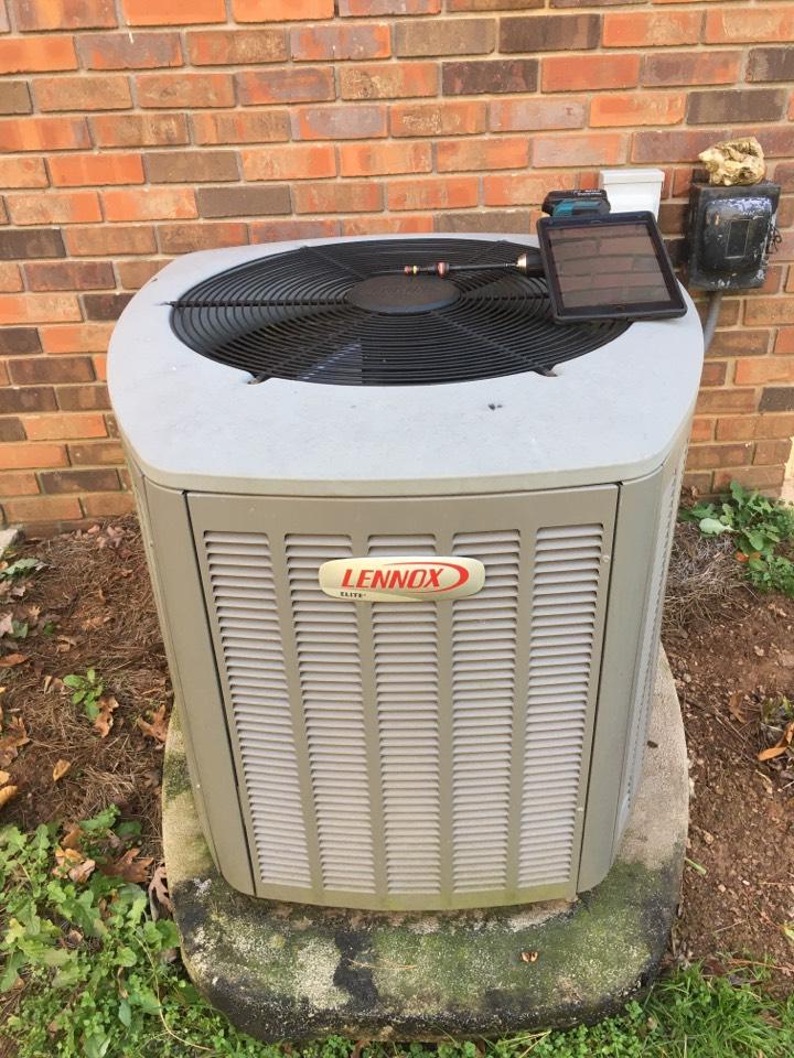 Dual fuel Lennox maintenance