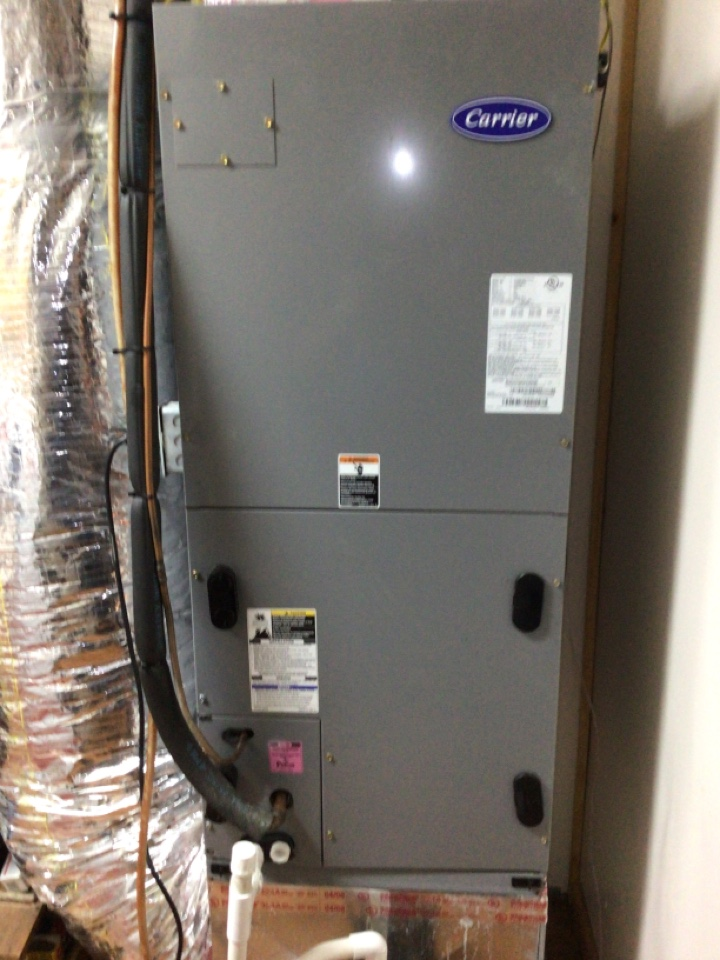 Mineral Bluff, GA - Carrier heat pump no heat  repaired burnt wire