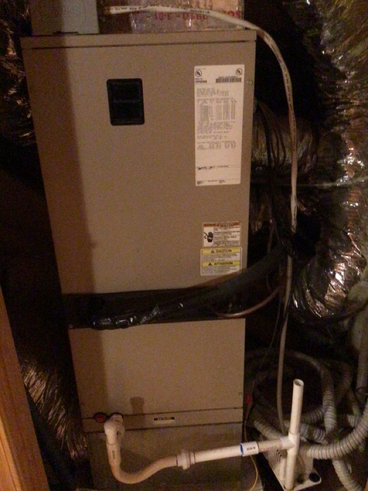 Morganton, GA - York duel fuel system maintenance and filter change