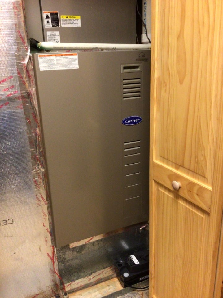 Mineral Bluff, GA - Carrier heat pump maintenance and duel fuel systems and filter change