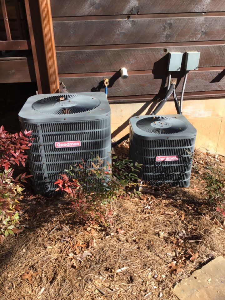 Blue Ridge, GA - Two systems furnace maintenance and filter change
