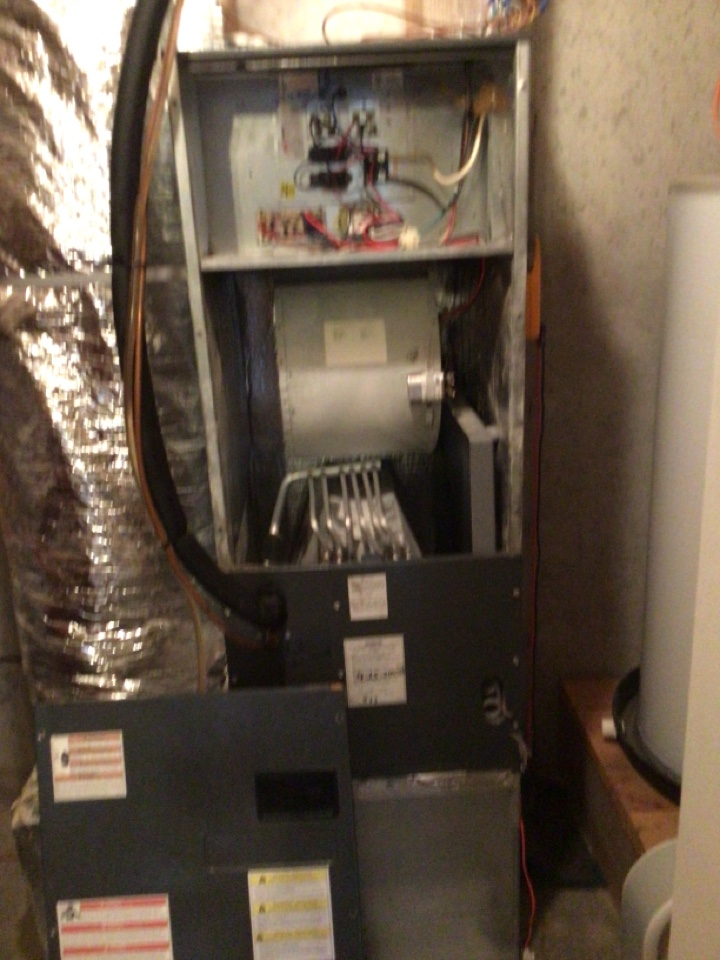Morganton, GA - Goodman Heat pump maintenance and filter change