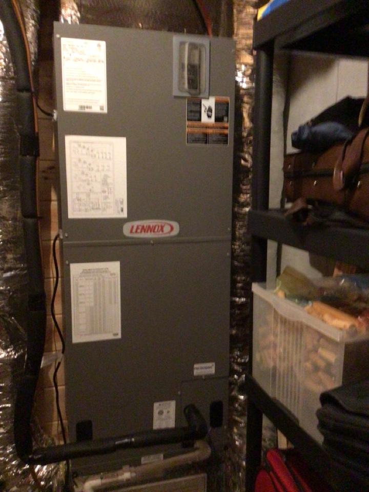 Blairsville, GA - Lennox heat pump maintenance and filter change