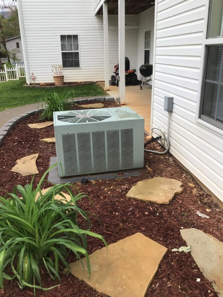 Blairsville, GA - Rheem maintenance and filter change